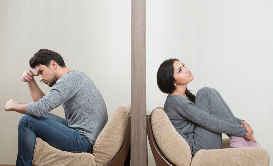 emotionaler Rückzug in Beziehungen